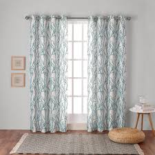 Teal Patterned Curtains Best Grey And Green Curtains 48 Inch Wide Curtains Teal Kitchen Curtains