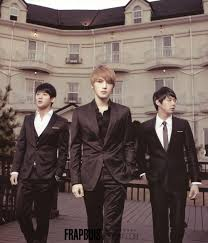 Trio JYJ is back to steal your life and time with their beautifully  self composed music     In Heaven    is their first Korean album and the songs  have been so