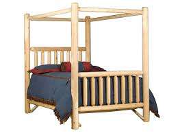 Rocky Top Canopy Log Bed