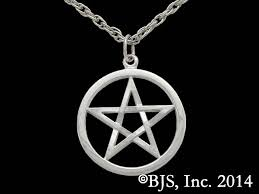 sterling silver harry dresden s pentacle necklace