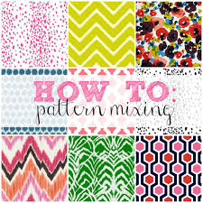 Pattern Mixing New How To Series Pattern Mixing Shannon Claire