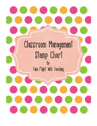 Classroom Management Stamp Chart
