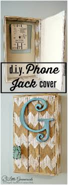 come learn how to hide a phone jack with this easy tutorial by 3