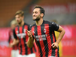 Hakan Calhanoglu is drawing interest from Manchester United