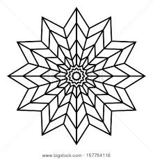 Easy Mandala Coloring Pages Easy Flower Coloring Pages Mandalas