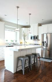 l shaped kitchen with island small