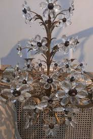 1940 039 s italian crystal chandelier