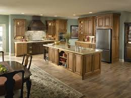 kitchen color ideas with wood cabinets. Delighful Cabinets Kitchen Color Ideas With Wood Cabinets Painted Cabi  Trendy Walls Inside