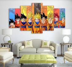 Dragon Ball Z Decorations 100 Canvas Art Hd Print Painting Dragon Ball Z Picture Kid Room 36