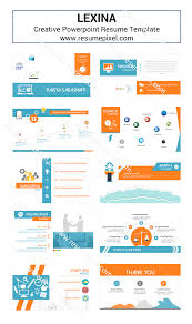 Professional Curriculum Vitae PowerPoint Template   SlideModel myCVfactory Preparing for a job interview E  L