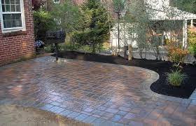paver patio designs with patio ideas medium size pavers patio design paver designs for an awesome garden concrete simple