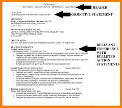 Career Objective Cv 8 Example Of Career Objective Precis Format