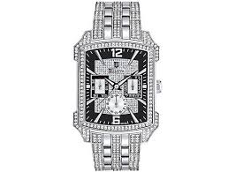 bulova wintermoor diamond mens watch this bulova crystal men s watch will give you a magnificient style for your formal attire this has