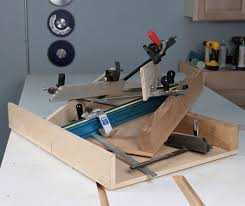 miter gaugeade crosscut sleds are a thing of the past