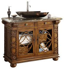 vigo bathroom vanity with vessel sink 42