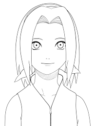 Small Picture Naruto Sakura lineart by jane in the box on DeviantArt