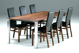 large modern dining table perfect contemporary round