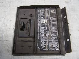 nissan truck fuse box wiring diagrams