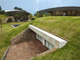 underground homes. Delighful Underground Modern Underground Home Paraguay With Underground Homes O