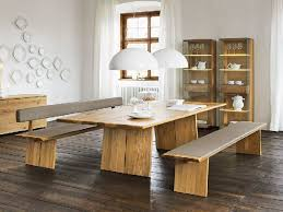 Round Dining Table With Bench Seating Rectangle Dining Table With Bench Rustic Dining Table With Bench