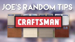 garage door won t closeJoes Random Tips  Craftsman Garage Door Wont Close  YouTube