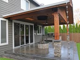 Covered Patio Fire Pit Patio Ideas