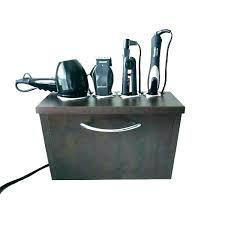 iron organizer wall mounted blow dryer holder hair appliance mount curling flat orga