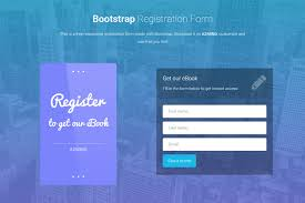 Registration Page Html Template Bootstrap Registration Forms 3 Free Responsive Templates Azmind