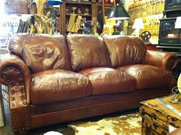Home Extraordinary Top Grain Leather Couch 32 Perkin Brown Sofa
