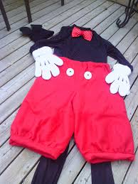 mickey mouse pants costume