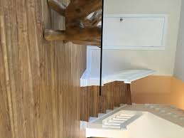 3mm rustic maple stairs