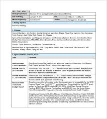 Minutes Document Template Layout Of Minutes Barca Fontanacountryinn Com