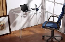 acrylic computer desk for small office acrylic office desk