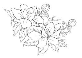 Free Printable Simple Flower Coloring Pages Adult For Adults Easy