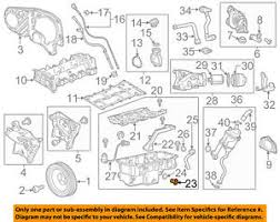 chevrolet gm oem 14 15 cruze engine parts drain plug 55588255 ebay gm parts catalog with pictures at Gm Oem Parts Diagram