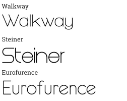 Eurofurence Light Font 40 Super Sleek Fonts For Clean Web Design Aditya Dyals Blog