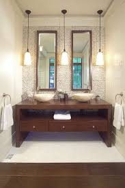 pendant lighting bathroom vanity. pendant lights above vanity bathroom contemporary with dark wood floor modern vanities tops lighting a
