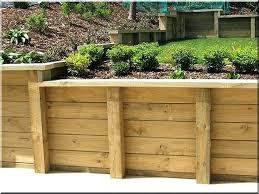 wood retaining wall wood retaining walls best wood retaining wall ideas on sleeper wall wood retaining