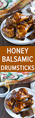 honey balsamic drumsticks are less than 400 calories but don t let that fool you