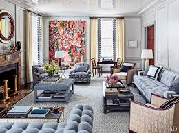 gray living room ideas. a majestic cecily brown painting and small work by damien hirst animate the graceful living gray room ideas i