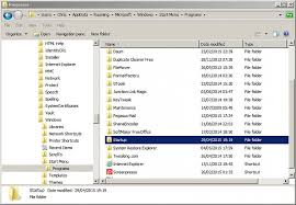 Lost My Startup Folder While Using Autoruns Windows 7 Help Forums