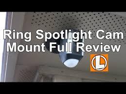 ring spotlight cam mount review