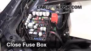 blown fuse check 2005 2011 cadillac sts 2005 cadillac sts 4 6l v8 6 replace cover secure the cover and test component