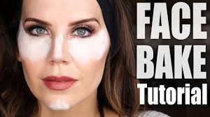 how to bake your face makeup tutorial