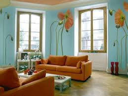Popular Paint Colours For Living Rooms Living Room Color Ideas 60 Wall Color Ideas In Orange Design For