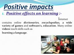 postive nagetive impacts applications of computer 4