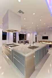 Modern Las Vegas Home 4040 Kitchen Island Kitchens Purple Classy Nice Kitchen Designs Photo