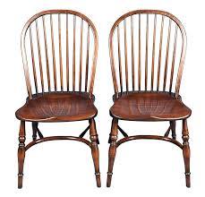pair of ash batheaston stick back english windsor dining chairs with regard to new property country dining chairs ideas