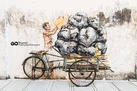 ipoh wall art murals by ernest zacharevic on mural wall art ipoh with ipoh wall art murals by ernest zacharevic ipoh old town