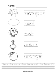 trace the words that begin with the letter o worksheet png 468x609 q85 ctok=